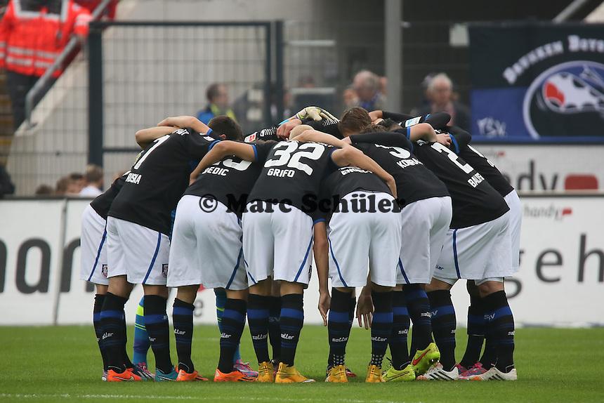 FSV Frankfurt schwört sich ein - FSV Frankfurt vs. FC Erzgebirge Aue, Frankfurter Volksbank Stadion
