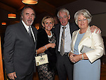 Peter McGuinness, Pauline Butterly, Kieran and Carrie McDonnell pictured at the Captains dinner. Photo:Colin Bell/pressphotos.ie