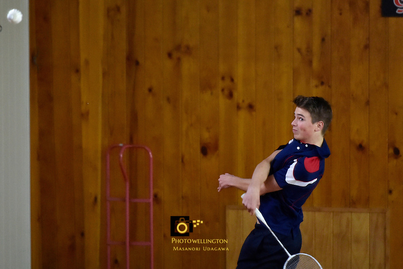 Badminton - CSW Open Singles Champs at Hataitai, Wellington, New Zealand on Wednesday 6 July 2016. <br />