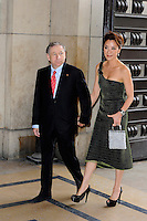 PARIS, FRANCE - JULY 3: Jean Todt and Michelle Yeoh attend the Armani Autumn-Winter 2012 Haute Couture fashion show, held at 'Theatre National de Chaillot' , on July 3, 2012 in Paris, France. Local Caption Jean Todt, Michelle Yeoh  .. / Mediapunchinc *NORTEPHOTO*<br />