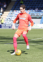 Allan Fleming in the SPFL Ladbrokes Championship Play Off semi final match between Queen of the South and Montrose at Palmerston Park, Dumfries on  11.5.19.