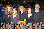 Enjoying a family night out at the St Michaels/Foilmore fight night on Sat were l-r; Sheila Ni Chonaill, Roisin Curran, Catherine Curran, Katie & Jamie O'Connell.