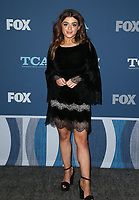 04 January 2018 - Pasadena, California - Brielle Barbusca. 2018 Winter TCA Tour - FOX All-Star Party held at The Langham Huntington Hotel. <br /> CAP/ADM/FS<br /> &copy;FS/ADM/Capital Pictures