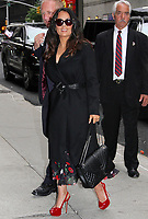 JUN 06 Salma Hayek at 'The Late Show with Stephen Colbert' in NYC