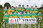 TOURNAMENT: The John Mitchels team who played in the Lee Strand Football Tournament at Connolly Park, Tralee on Saturday front l-r: Cian O'Brien, Rian O'Connor, Daniel Murphy, Robbie O'Connor, Jack Myers, Gavin O'Brien, Dylan O'Brien and Conor Hurley. Back l-r: Danny Houlihan, Kevin Foley, Michael Costello, Pat Kearney, Ben O'Neill, Mario Ziga, Aaron O'Keeffe, Michael Walsh and Brendan O'Donovan...