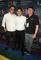 LOS ANGELES, CA -APRIL 7: Dominic Leong, Chris Leong, Bill McDermott, at Grand Opening Of The Los Angeles LGBT Center's Anita May Rosenstein Campus at Anita May Rosenstein Campus in Los Angeles, California on April 7, 2019.<br /> CAP/MPIFS<br /> &copy;MPIFS/Capital Pictures