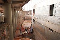 BRASILIA,DF,28 JANEIRO 2013 - VISTORIA ESTADIO MANÉ GARRINCHA - Vistas das obras do Estadio Mané Garrincha em Brasilia.FOTO ALE VIANNA - BRAZIL PHOTO PRESS.