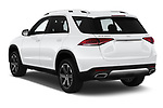 Car pictures of rear three quarter view of 2020 Mercedes Benz GLE 350-d-4MATIC 5 Door SUV Angular Rear