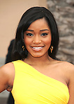 LOS ANGELES, CA. - February 26: Keke Palmer arrives at the 41st NAACP Image Awards at The Shrine Auditorium on February 26, 2010 in Los Angeles, California.