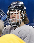 Bryan Plaszcz - The University of Maine Black Bears practiced on Wednesday, April 5, 2006, at the Bradley Center in Milwaukee, Wisconsin, in preparation for their April 6 2006 Frozen Four Semi-Final game versus the University of Wisconsin.