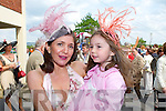 Carol Kennelly Rosie Kennelly  at the Tralee Races on Sunday.