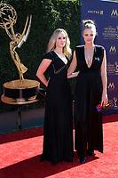 PASADENA - APR 30: Krissy Lefebure, Gillian Brown at the 44th Daytime Emmy Awards at the Pasadena Civic Center on April 30, 2017 in Pasadena, California