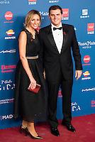 Albert Rivera and his girlfriend Beatriz Tajuelo attends to the photocall of the Gala Sida at Palacio de Cibeles in Madrid. November 21, 2016. (ALTERPHOTOS/Borja B.Hojas) //NORTEPHOTO.COM