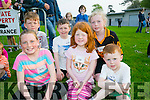 At the Rock Street/Caherslee Community Games on Thursday were Kaylan Richardson, Ella Dennehy, Tomas Dennehy, Killian Richardson, Conor Dennehy and Grace Reidy