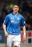 St Johnstone v Partick Thistle....17.01.15  SPFL<br /> A return to action fro Tam Scobbie<br /> Picture by Graeme Hart.<br /> Copyright Perthshire Picture Agency<br /> Tel: 01738 623350  Mobile: 07990 594431