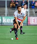 AMSTELVEEN  -  Valentin Verga (Adam)  Hoofdklasse hockey dames ,competitie, heren, Amsterdam-Pinoke (3-2)  . COPYRIGHT KOEN SUYK