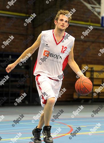 2012-09-04 / Basketbal / seizoen 2012-2013 / Soba basket / Bogaerts Dries ..Foto: Mpics.be