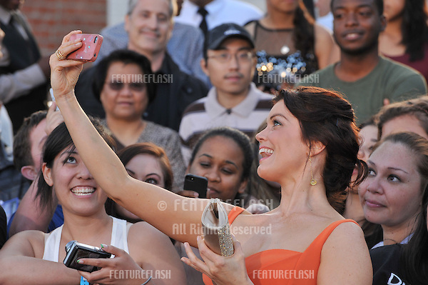 Bellamy Young at the Los Angeles premiere of &quot;Divergent&quot; at the Regency Bruin Theatre, Westwood.<br /> March 18, 2014  Los Angeles, CA<br /> Picture: Paul Smith / Featureflash