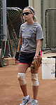 5-27-09 .Reese Witherspoon practicing softball at UCLA college for her new movie. ..AbilityFilms@yahoo.com.805-427-3519.www.AbilityFilms.com.