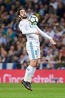 Real Madrid Fernando Alarcon 'Isco' during La Liga match between Real Madrid and Athletic Club at Santiago Bernabeu Stadium in Madrid. April 19, 2017. (ALTERPHOTOS/Borja B.Hojas) /NortePhoto.com