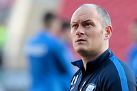 Preston North End manager Alex Neil  looks on before kick off<br /> <br /> Photographer David Shipman/CameraSport<br /> <br /> The EFL Sky Bet Championship - Rotherham United v Preston North End - Tuesday 1st January 2019 - New York Stadium - Rotherham<br /> <br /> World Copyright © 2019 CameraSport. All rights reserved. 43 Linden Ave. Countesthorpe. Leicester. England. LE8 5PG - Tel: +44 (0) 116 277 4147 - admin@camerasport.com - www.camerasport.com