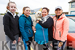 Ready for their 5k  Causeway Macra in Causeway for Downs Syndrome on Sunday. <br /> L-r, Aoife Fealy, Linda O&rsquo;Leary, Lorraine McElligott, Gillian O&rsquo;Leary and Coco the dog.
