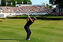 Luke Donald (ENG) in action during the final round of the BMW PGA Championship played on the West Course, Wentworth Club, Virginia Water, Surrey, England 24 - 27 May 2012. (Picture Credit / Phil Inglis)