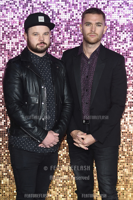 """LONDON, UK. October 23, 2018: Royal Blood at the world premiere of """"Bohemian Rhapsody"""" at Wembley Arena, London.<br /> Picture: Steve Vas/Featureflash"""