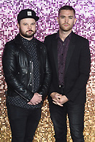 LONDON, UK. October 23, 2018: Royal Blood at the world premiere of &quot;Bohemian Rhapsody&quot; at Wembley Arena, London.<br /> Picture: Steve Vas/Featureflash