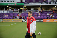 Orlando, FL - Friday Oct. 06, 2017: Christian Pulisic during a 2018 FIFA World Cup Qualifier between the men's national teams of the United States (USA) and Panama (PAN) at Orlando City Stadium.