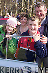 Cars: Taking it all in at the Killarney Easter Vintage Rally on Sunday were Daniel and Sadhbh Moriarty of Kenmare..