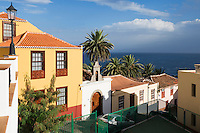 Spain, Canary Islands, La Palma, San Andres: historical old town