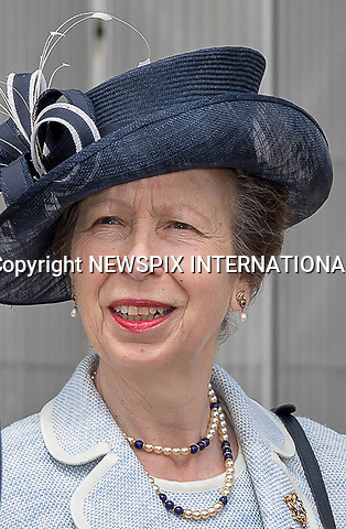 12.07.2017, RAF Brize Norton; UK: PRINCESS ANNE<br />