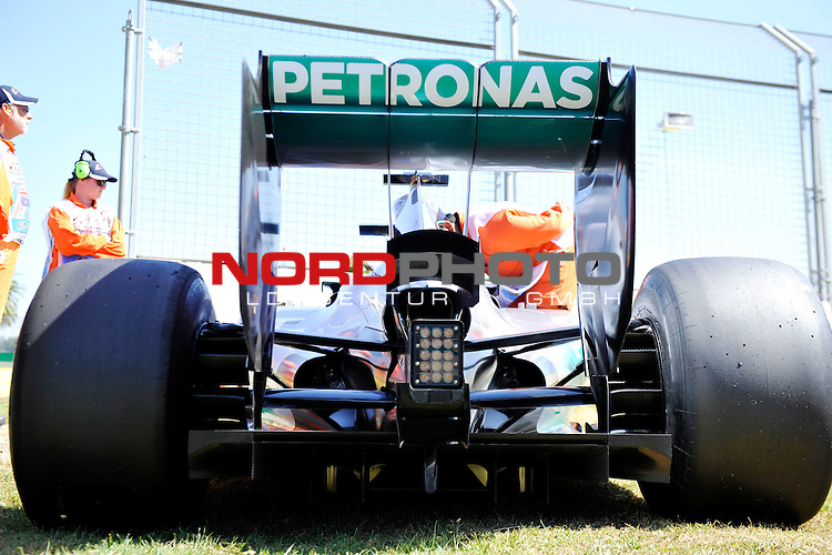 Mercedes F1 W05<br />  Foto &copy; nph / Mathis