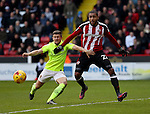 Leon Clarke of Sheffield Utd during the English Football League One match at Bramall Lane, Sheffield. Picture date: December 31st, 2016. Pic Jamie Tyerman/Sportimage