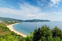 The beach Agia Paraskevi of Skiathos island, Greece