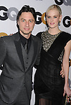 LOS ANGELES, CA - NOVEMBER 13: Zach Braff, Taylor Bagley .. arrive at the GQ Men Of The Year Party at Chateau Marmont Hotel on November 13, 2012 in Los Angeles, California.