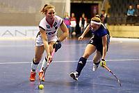 Nike Lorenz, Valeriia Borisova /   /        /   <br /> / Sport / Hockey Hnhockey / World Championships Weltmeisterschaft Damen /  2017/2018 / 07.02.2018 / GER BRGermany vs. Russland  *** Local Caption *** © pixathlon<br /> Contact: +49-40-22 63 02 60 , info@pixathlon.de