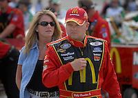 May 4, 2007; Richmond, VA, USA; Nascar Busch Series driver Bobby Hamilton Jr (35) during qualifying for the Circuit City 250 at Richmond International Raceway. Mandatory Credit: Mark J. Rebilas