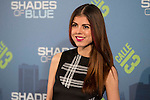 """Alba Messa attends to the premiere of the new series of chanel Calle 13, """"Shades of Blue"""" at Callao Cinemas in Madrid. April 05, 2016. (ALTERPHOTOS/Borja B.Hojas)"""