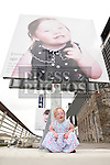 Emma O'Kane pictured with her photo at the official launch of the Down Syndrome Photo exhibition at Scotch Hall. Photo:Colin Bell/pressphotos.ie