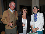 Ann and Peter Nevin and Winifred Callan at the Ledwidge evening at Slane castle. Photo: Colin Bell/pressphotos.ie