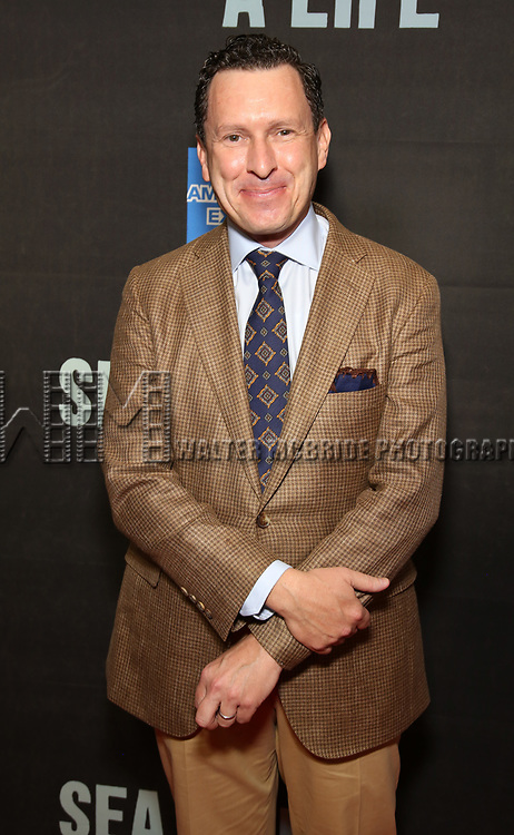 "Jacob Langfelder attends the Broadway Opening Night performance of ""Sea Wall / A Life"" at the Hudson Theatre on August 08, 2019 in New York City."