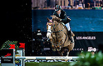 Michael Whitaker of United Kingdom riding Viking competes at the HKJC Trophy during the Longines Hong Kong Masters 2015 at the AsiaWorld Expo on 13 February 2015 in Hong Kong, China. Photo by Xaume OIleros / Power Sport Images