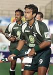 Champions Trophy Hockey mannen: De Pakistaanse sterspeler, Sohail Abbas, die na de winterstop voor Rotterdam zal gaan spelen.