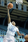 12 December 2012: North Carolina's Brittany Rountree. The University of North Carolina Tar Heels played the North Carolina Central University Eagles at Carmichael Arena in Chapel Hill, North Carolina in an NCAA Division I Women's Basketball game. UNC won the game 49-21.
