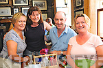 Brianan Foz, Maria Tobin, David Foz and Magella Floyd from Beaufort enjoying the Annascaul Beer Fest over the weekend.