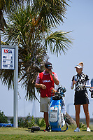 Nelly Korda (USA) looks over her tee shot on 8 during round 1 of the 2019 US Women's Open, Charleston Country Club, Charleston, South Carolina,  USA. 5/30/2019.<br /> Picture: Golffile | Ken Murray<br /> <br /> All photo usage must carry mandatory copyright credit (© Golffile | Ken Murray)