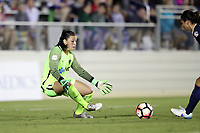 Cary, NC - Saturday April 22, 2017: Sabrina D'Angelo during a regular season National Women's Soccer League (NWSL) match between the North Carolina Courage and the Portland Thorns FC at Sahlen's Stadium at WakeMed Soccer Park.