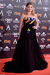 Miriam Giovanelli attends to the Red Carpet of the Goya Awards 2017 at Madrid Marriott Auditorium Hotel in Madrid, Spain. February 04, 2017. (ALTERPHOTOS/BorjaB.Hojas)